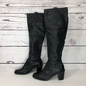"""Matisse """"Lexi"""" Tall Pebbled Leather Over the Knee"""